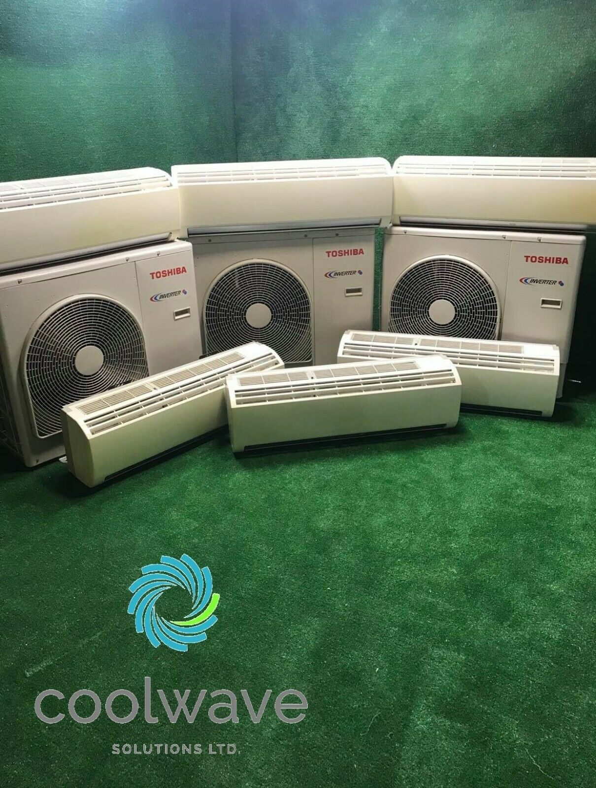 toshiba used air conditioning
